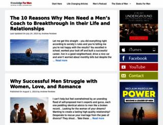 knowledgeformen.com screenshot