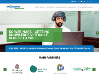 knowledgeoman.com screenshot