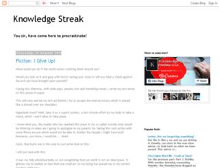 knowledgestreak.com screenshot