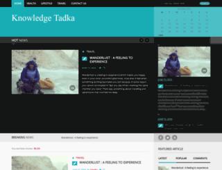 knowledgetadka.com screenshot