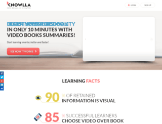 knowlla.com screenshot