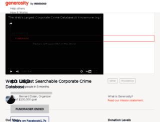 knowmore.org screenshot