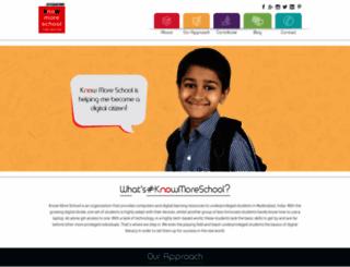 knowmoreschool.org screenshot