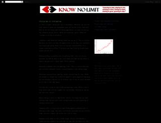 knowno-limit.blogspot.com screenshot
