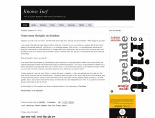 knownturf.blogspot.com screenshot