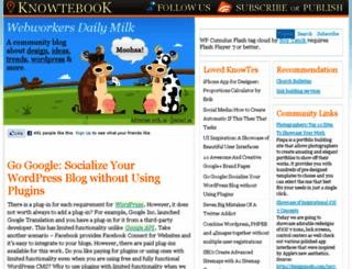 knowtebook.com screenshot