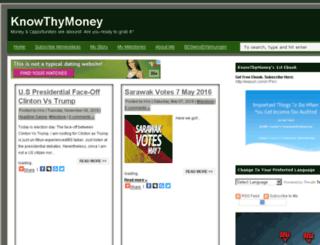 knowthymoney.com screenshot