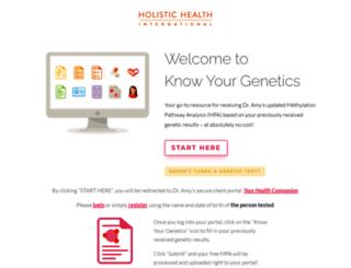 knowyourgenetics.com screenshot