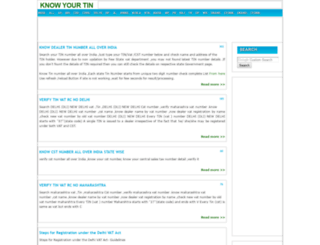 knowyourtin.com screenshot