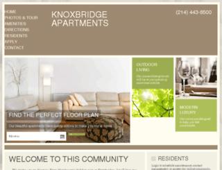 knoxbridge.prospectportal.com screenshot