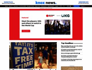 knoxnews.com screenshot