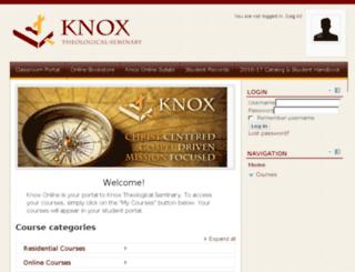 knoxvirtual.mrooms3.net screenshot