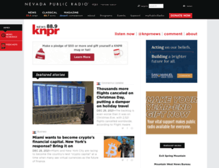 knprnews.org screenshot