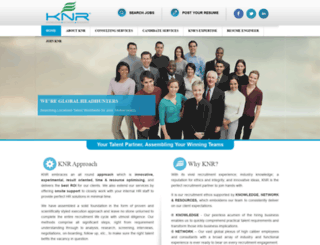 knrglobal.com screenshot