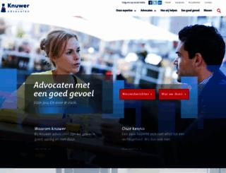 knuwer.nl screenshot