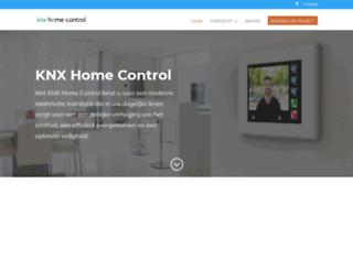 knx-homecontrol.be screenshot