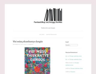 knyguziurkes.wordpress.com screenshot