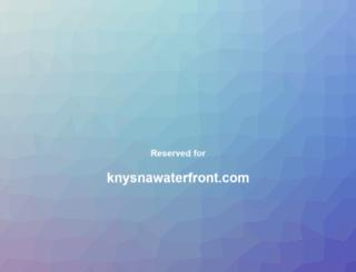 knysnawaterfront.com screenshot