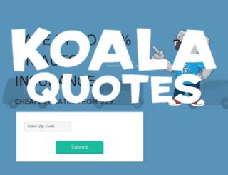 koalaquotes.com screenshot