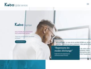 koba.com screenshot
