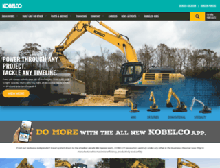 kobelco-usa.com screenshot