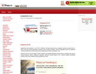 koberce-k-k.shopy.cz screenshot