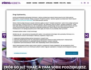 kobieta.interia.pl screenshot