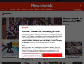 kobieta.newsweek.pl screenshot
