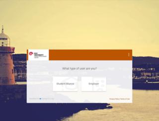koc-csm.symplicity.com screenshot