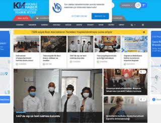 kocaali.com screenshot