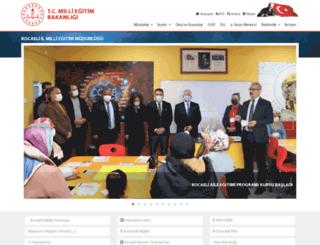kocaeli.meb.gov.tr screenshot