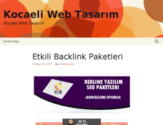 kocaeliwebtasarim.redlineyazilim.com screenshot