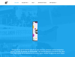 kocfest.com.tr screenshot