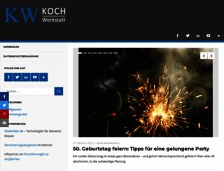 koch-werkstatt.de screenshot