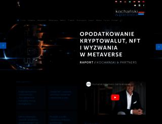kochanski.pl screenshot
