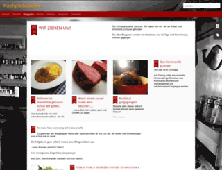 kochplattenteller.blogspot.com screenshot