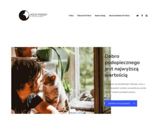 kocie-porady.pl screenshot