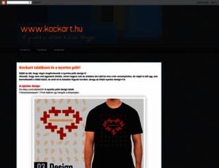 kockart.blogspot.com screenshot