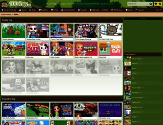 kocky.1001hry.cz screenshot