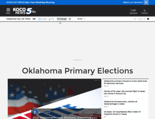 koco.com screenshot