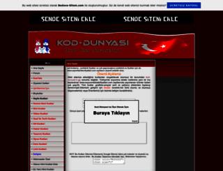 kod-dunyasi.tr.gg screenshot