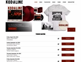 kodaline.com screenshot