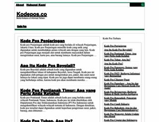 kodepos.co screenshot