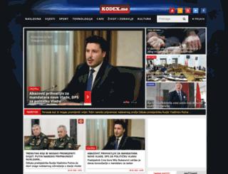 kodex.me screenshot