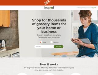 kodiak.peapod.com screenshot