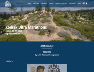 kodiak100.com screenshot