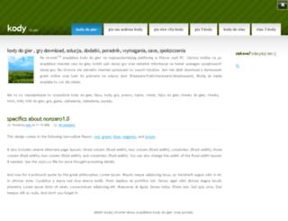kody.w8w.pl screenshot