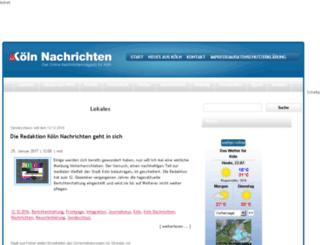 koeln-nachrichten.de screenshot