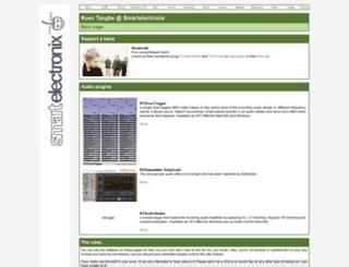 koen.smartelectronix.com screenshot