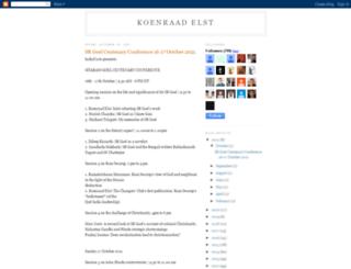 koenraadelst.blogspot.com screenshot